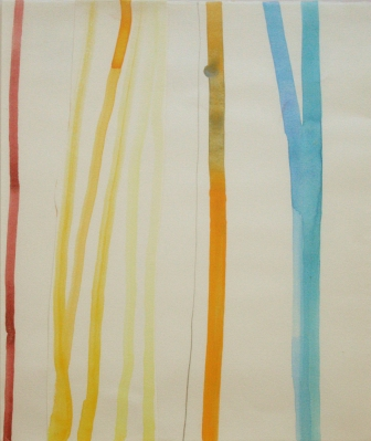 melissa staiger, mixed media 2007, titled, tree lines