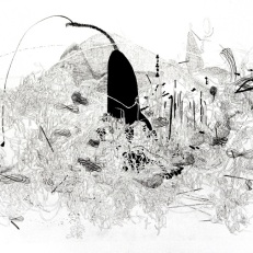 Jiyoun Lee-Lodge Mindscape 03, 2011 Lithograph 13 x 18.25""