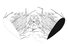 "Jiyoun Lee-Lodge Measures, 2010 drawing printed on paper 13 x 19"""