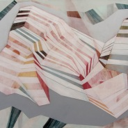 Roberta Gentry Roswell 2 Acrylic on Canvas 72 x 48 Inches, 2012