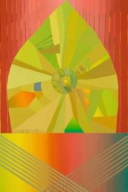 Jenny Kemp Bright Beast Oil on Panel 20 x 30 inches, 2012