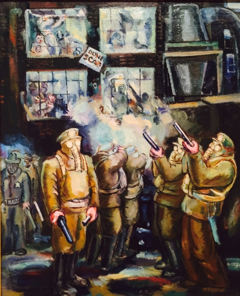 Morris Topchevsky, Strike Breakers, 1937