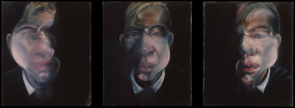 Bacon, Three Studies for a Self-Portrait (1979–80)