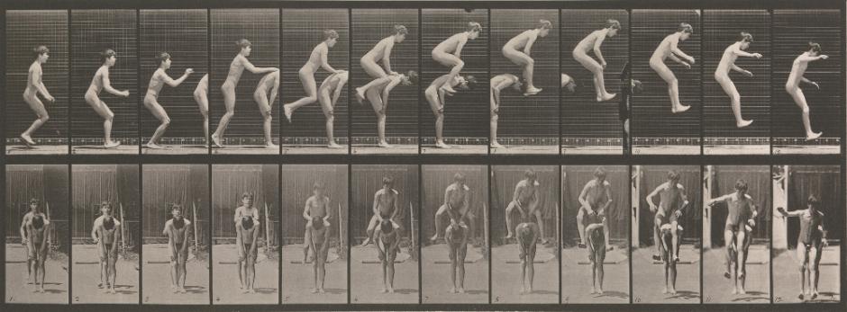 Muybridge, LeapFrog (1887)