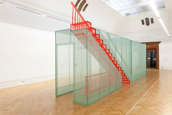 Do Ho Suh,  New York City Apartment/Corridor/Bristol, 2015. Bristol Museum & Art Gallery