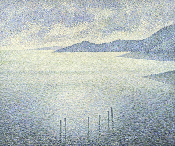 Théo van Rysselberghe, Coastal Scene, 1892 Oil on canvas, 51 x 61 cm