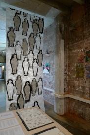 installation view: Hays & Bacon