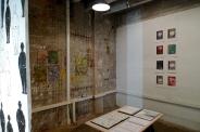 installation view: Buchanan & Hoberman