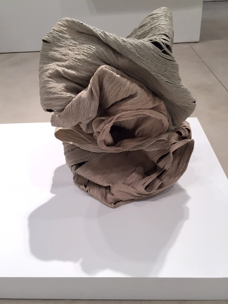 Cheryl Ann Thomas, Violet, 2014, Porcelain, 19 x 21 x 18 in.