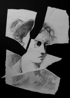 Fragment. Unknown artist #1