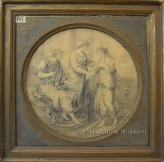 Two Classical pictures after Angelica Kauffman, 66 & 67